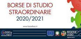 BORSE DI STUDIO PER STUDENTI DELLE SCUOLE SECONDARIE DI SECONDO  ....
