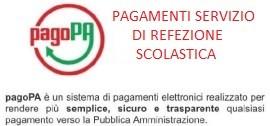 PAGAMENTI REFEZIONE SCOLASTICA CON PAGO PA ANNI PREGRESSI