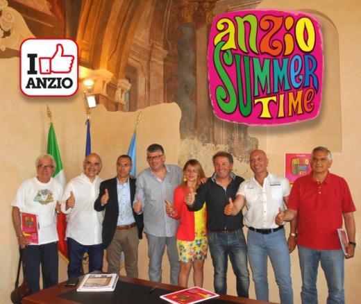 Anzio Summer Time foto gruppo