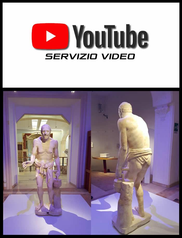 Statua del pescatore video youtube