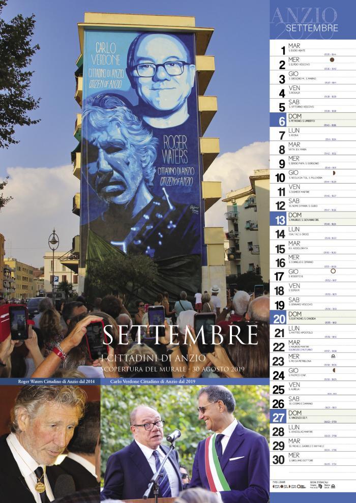 calendario mese settembre