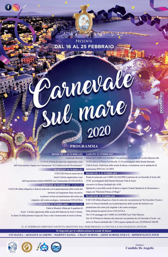 carnevale sul mare 2020