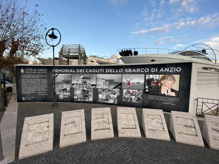 rendering memorial caduti