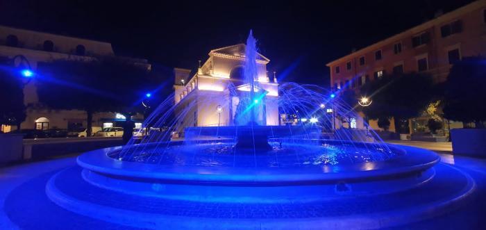 piazza pia blu