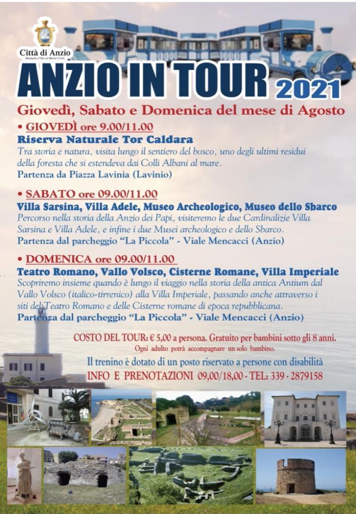anzio in tour